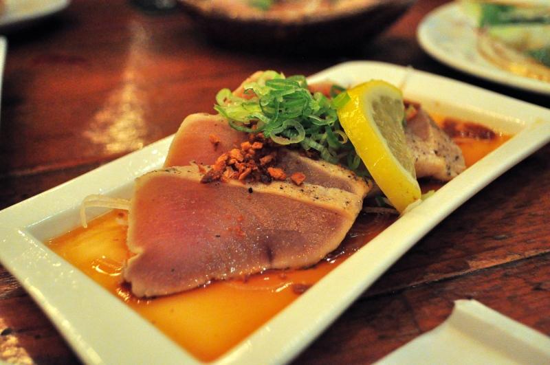 Seared Tuna.