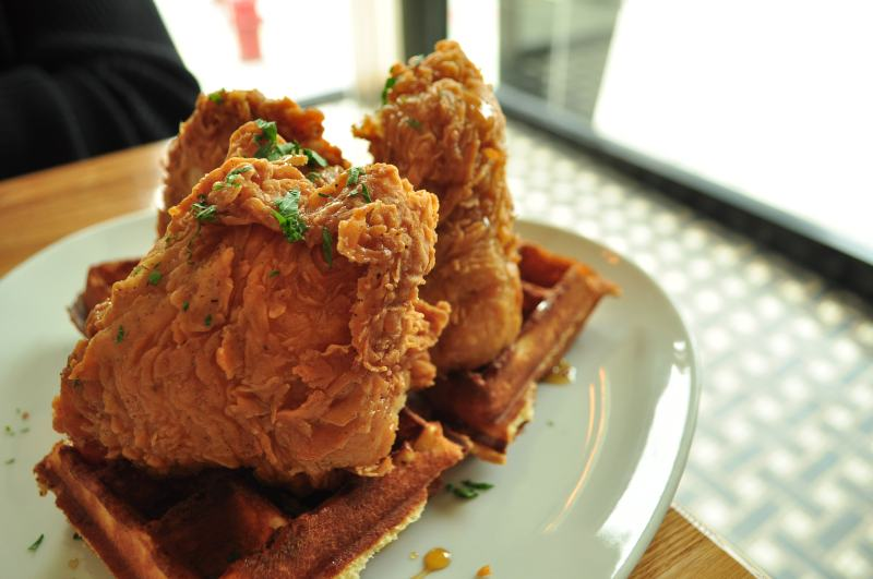 Fried Chicken & Waffles.