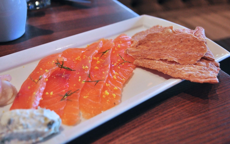 House-Cured Gravalax.