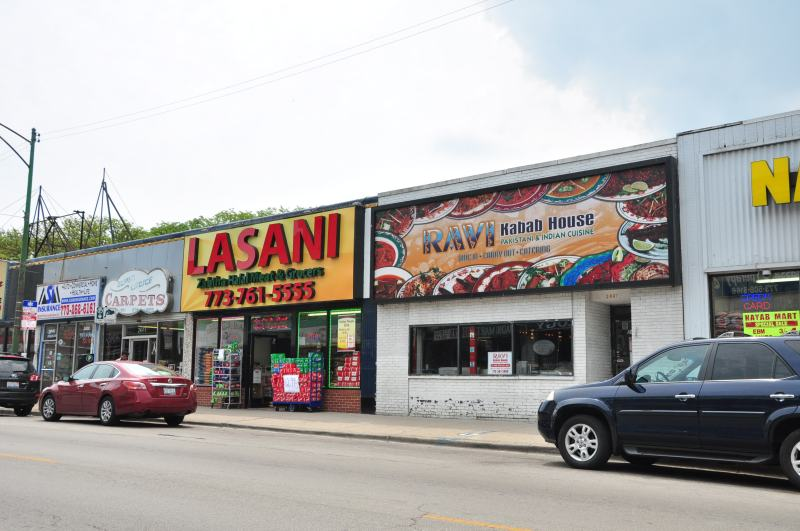 Middle Eastern cultures mix along Devon Avenue in Rogers Park.