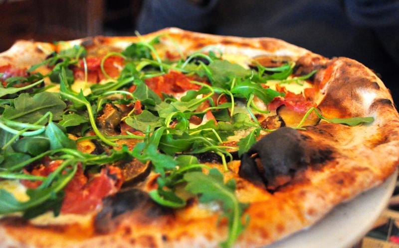 Prosciutto and Fig Pizza.