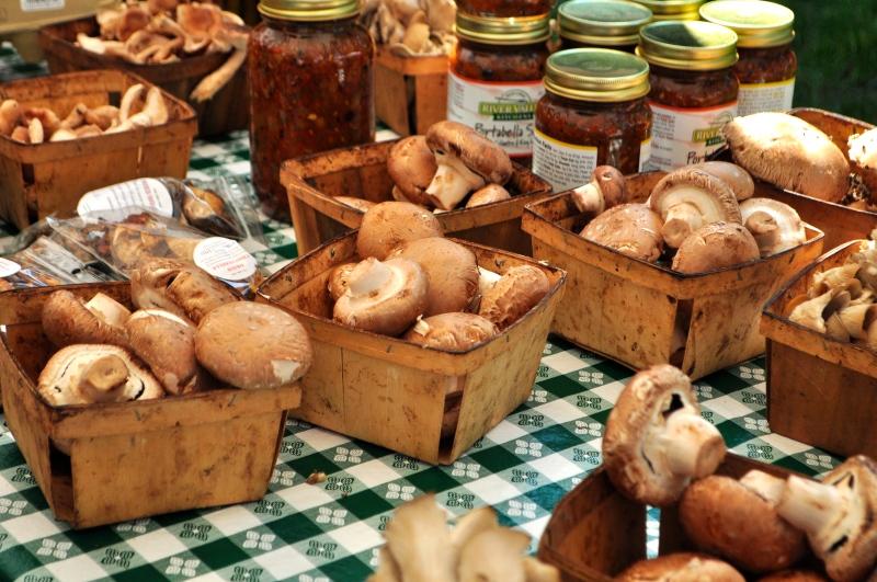 Mushrooms and Jarred Sauces.