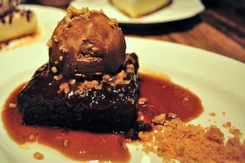 Sticky Toffee Date Cake.