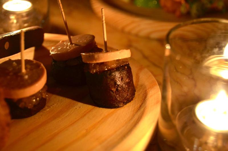 Morcilla with Foie Gras.
