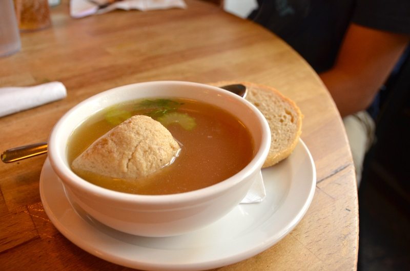 Matzah Ball Soup.