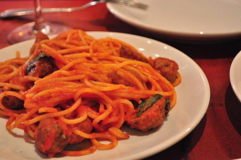 Spaghetti and Meatballs.