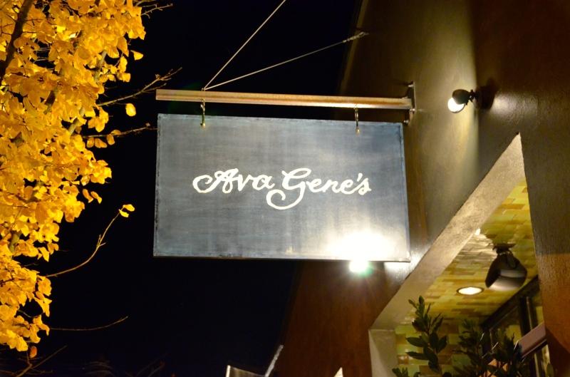 Dinner at Ava Gene's
